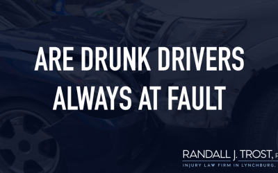 Are Drunk Drivers Always At Fault